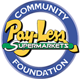 Pay Less Community Foundation Logo