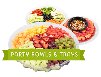 Party Bowls & Trays