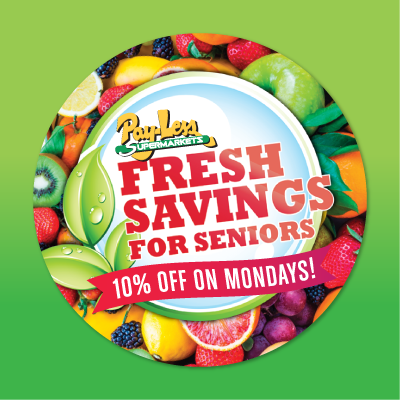 Fresh Savings For Seniors